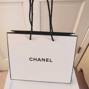 Chanel gift bag brand new!